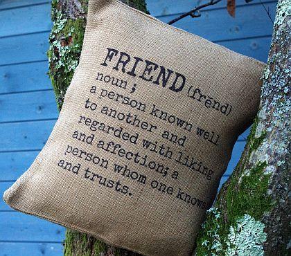 Friend Cushion