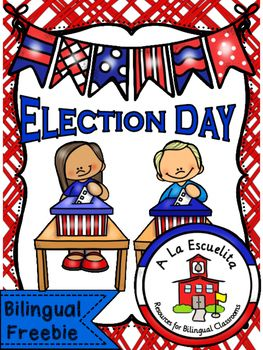 Election Day Bilingual FreebieIncludes**:CrownsVoting BallotsI Voted Buttons or Ribbons**in English and SpanishYou may also like:Election DayDia de eleccionesElection Day Bilingual Bundle