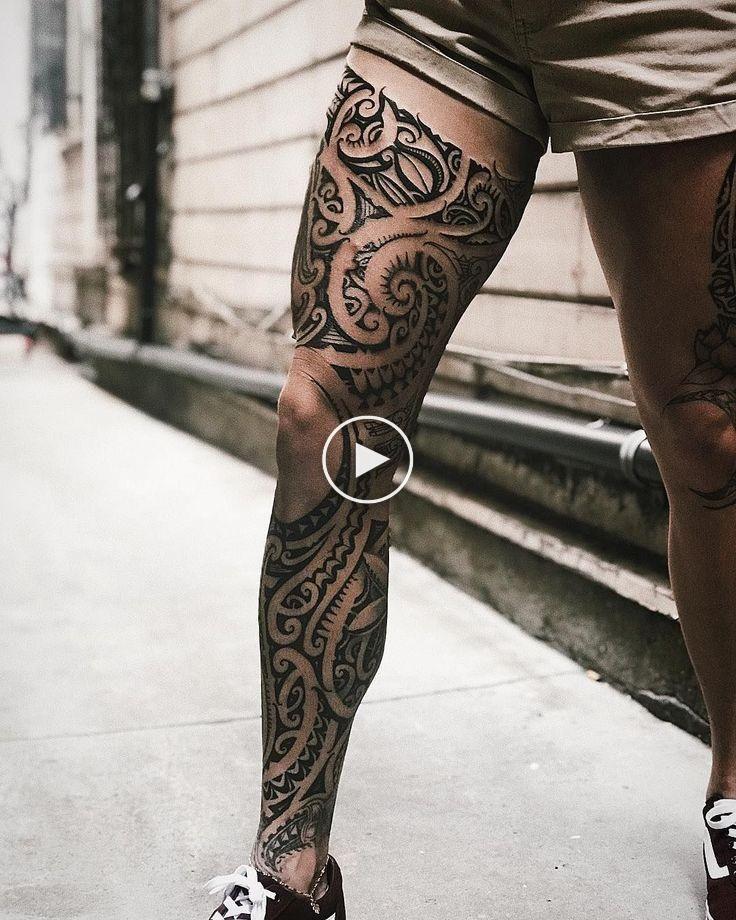 100 Best Tribal Tattoos And Designs For Men And Women Millions Grace Tribalta Leg Tattoo Men Tribal Tattoos Polynesian Leg Tattoo