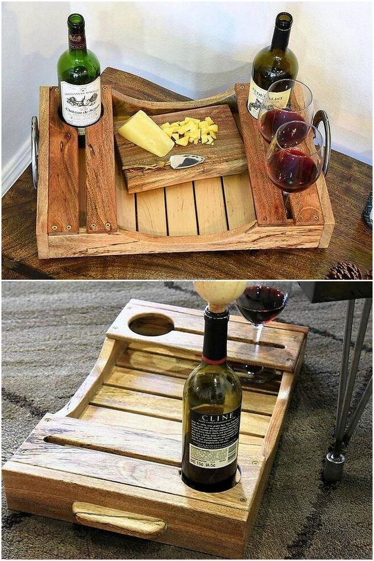 woodwork craft ideas 25 unique pallet tray ideas on wooden serving 3259
