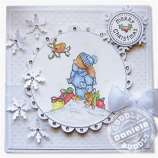 Pachela Studios Digi Stamp - Toby Tumble Hello There! < Craft Shop | Cuddly Buddly Crafts