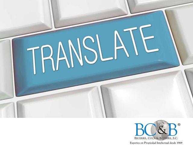 CÓMO PATENTAR UNA MARCA. En Becerril, Coca & Becerril, contamos con un departamento de traducción constituido por expertos en distintos idiomas. Nuestro equipo cuenta con formación profesional técnica en química, electromecánica, electrónica y biotecnología, lo cual les permite realizar traducciones de alta calidad en cualquier campo de la ciencia y la tecnología. #patentes