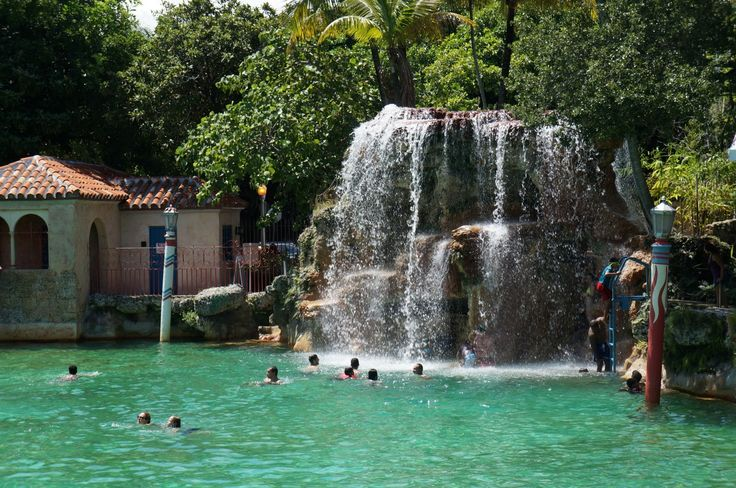 Venetian Pool in Coral Gables, FL. Lots of happy days spent there.