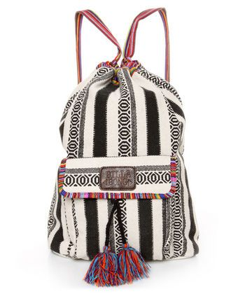 #lovelulus Billabong Caravan Tribal Striped Backpack