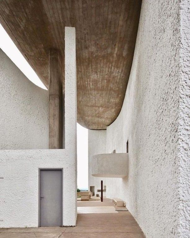 Interior Design Addict On Instagram Notre Dame Du Haut Find Inspiration Follow Interior Interior Architecture Design Minimalist Architecture Architecture