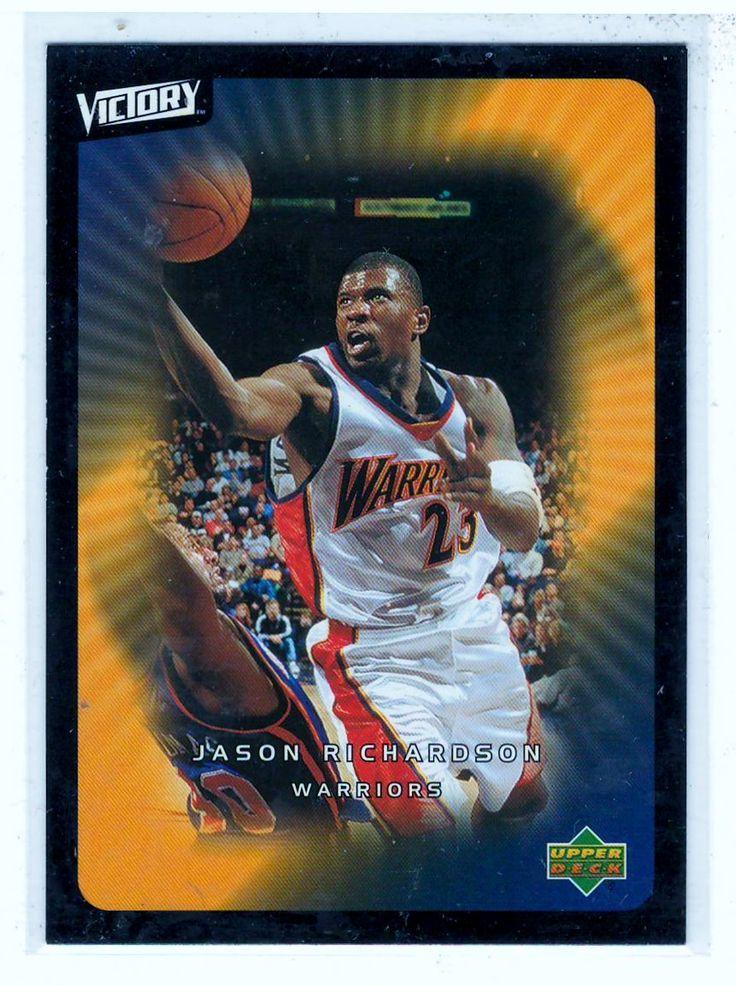 Sports Cards Basketball - 2003 UD Victory Jason Richardson