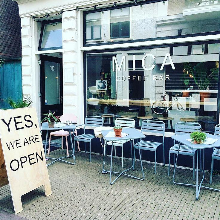 Yes ze zijn open! @mica.coffeebar #coffee #lunch #haarlem