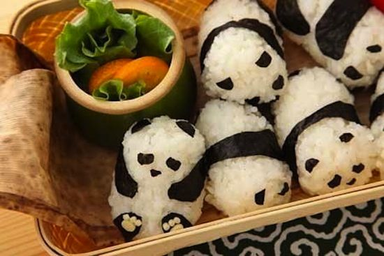 5 Adorable Things Made Out of Rice
