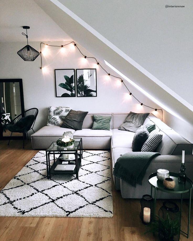 Ideen Für Ein Schönes Wohnzimmer: Handgetufteter Teppich Naima In 2019
