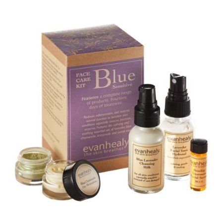 Blue Face Care Kit by Evan Healy