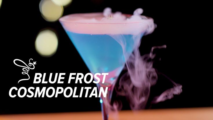 The Blue Frost Cosmopolitan might sound like a chilly drink, but it's guaranteed to warm the spirits of every guest at your holiday party 🍸❄️. #holidaycocktails #holidaycheer  RECIPE: Vodka Cointreau St. Germain White Cranberry Juice Lime Juice Blue Curacao Dry Ice* *DO NOT drink until dry ice has completely vanished!!  WATCH the video to learn how to make!  #holiday #holidaycocktails #holidayrecipes #cosmo #bluefrostcosmo #bluefrost #frosty #snow #christmasdrinks #christmascocktails #jackfrost
