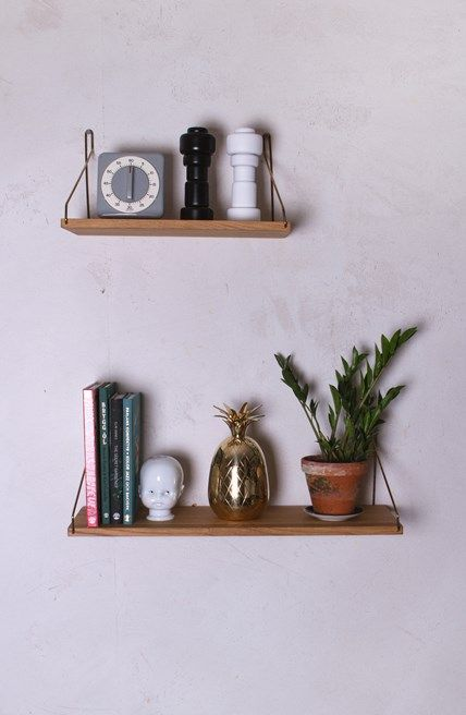 Frama Shelf 40cm Brass