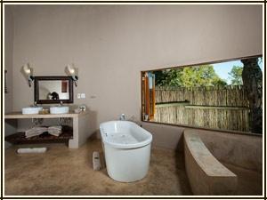 Family Chalet Accommodation - Simbavati River Lodge, South Africa