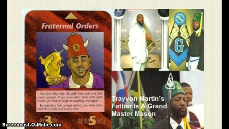 "Busted! Trayvon Martin's Father is ""Illuminati Grand Master Mason"" of the Boule Society!"