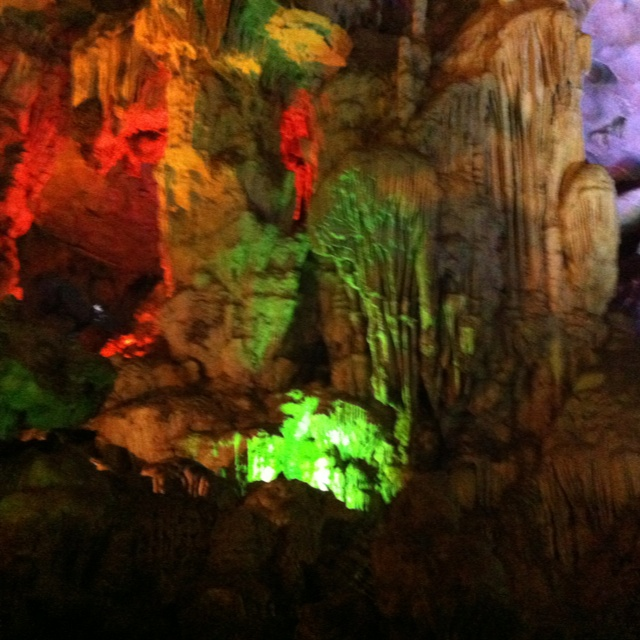 Caves at Halong Bay