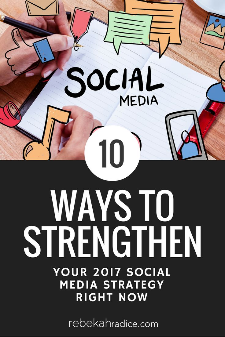 How to Strengthen Your 2017 Social Media Strategy via @RebekahRadice