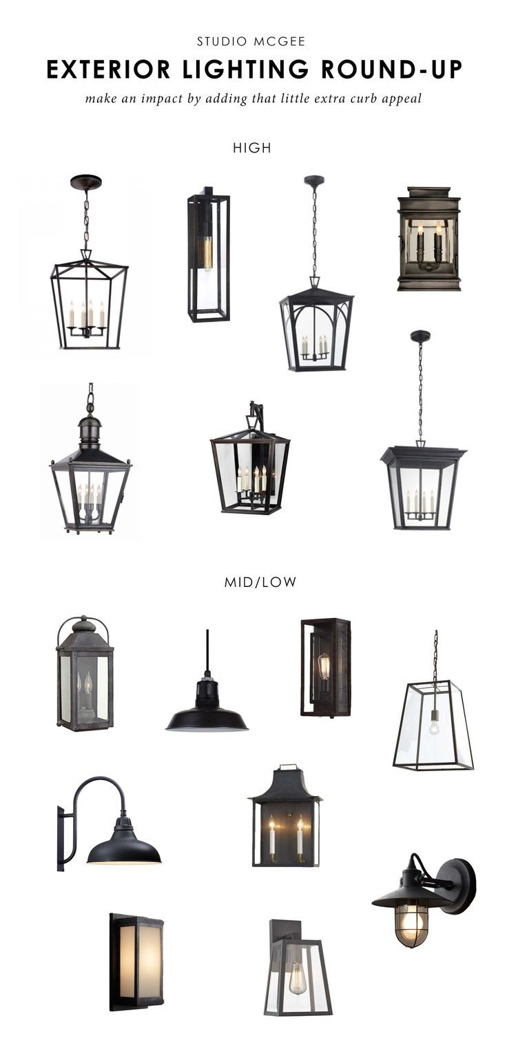 Studio McGee | Our favorite exterior lights... - http://centophobe.com/studio-mcgee-our-favorite-exterior-lights/ -