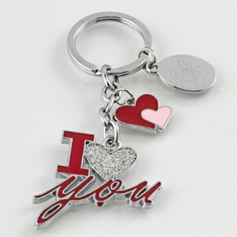 I Love You Keychain #personalizedgifts #iloveyou