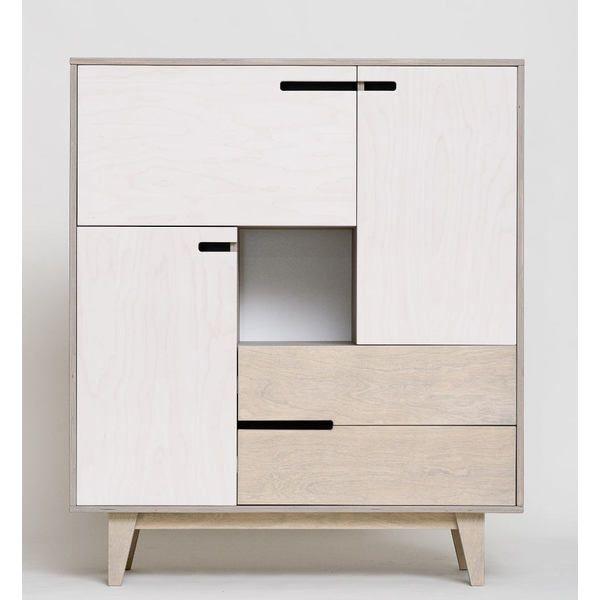 Küchenkommode Küchenschrank MIX Im Skandinavischen Design. Origineller  Schrank Für Esszimmer, Küche, Büro