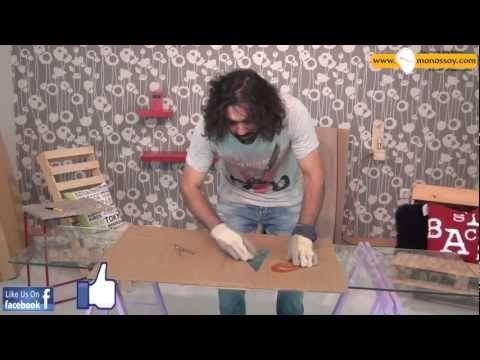 φτιαξτο μονος σου , καρέκλα από χαρτί . - YouTube