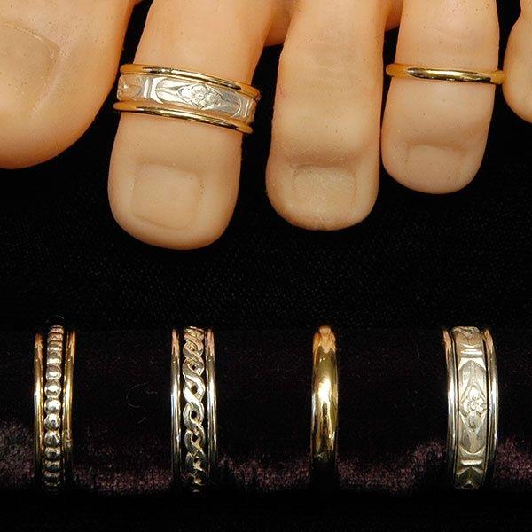 Love Toe Rings ♥