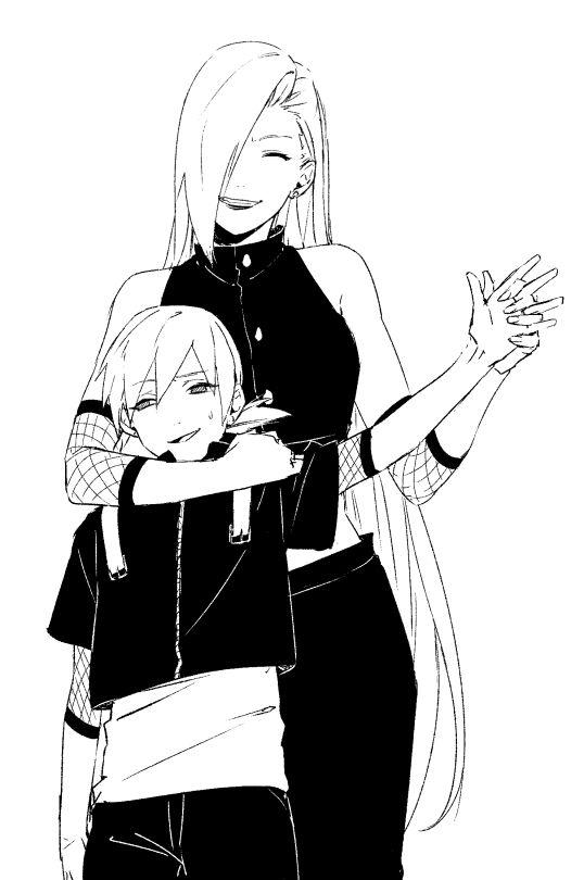 Yamanaka Ino and Yamanaka Inojin.