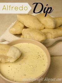 Olive Garden Alfredo dip.. Yum!!