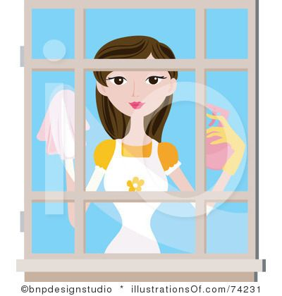 Cleaning Clipart Illustration