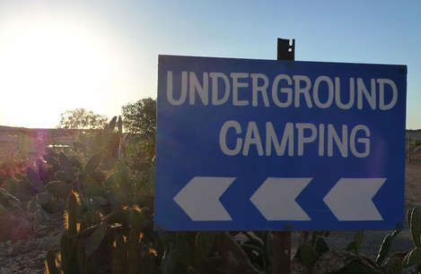 Coober Pedy - Underground Camping!