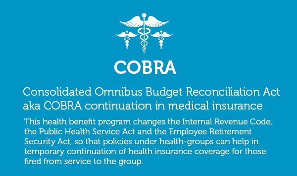 7 Facts About Cobra Health Insurance Plan With Images Health