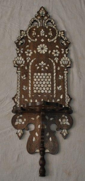 Syrian Pearl Shelf - Moroccan Home Decor