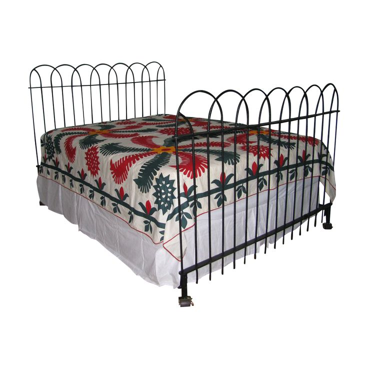 17 best ideas about wrought iron beds on pinterest for Wrought iron bed