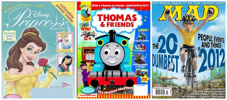 Magazine Deals 2/14 Mad, Disney Princess Magazine, & Thomas & Friends, Weight Watchers and Backpacker Magazine up to 87% Off – TODAY ONLY! #magazine #hotdeals