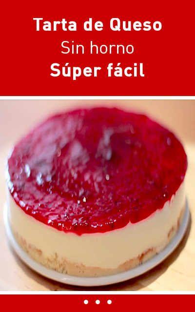 #receta #cheesecake #tarta #queso #fácil