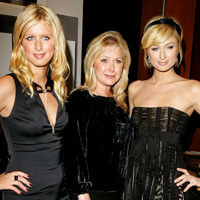 Famous Families: Like Mother, Like Daughter - Nicky, Kathy, and Paris Hilton from #InStyle