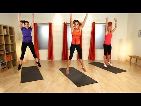 When it comes to burning a lot of calories in little time, try Tabata. Its a form of high-intensity interval training that alternates between 20 seconds of max training and 10-second rest periods for a total of eight rounds. These workouts are fast-paced and fun. This workout is made of two Tabata sets, plus a short warmup and cooldown. No equi...