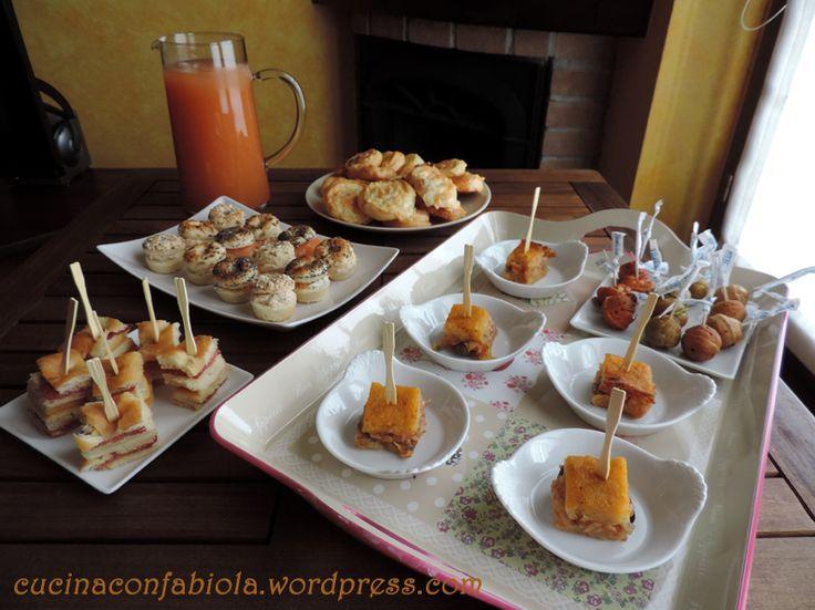 """Varie idee e ricette per un aperitivo + ricetta del cocktail """" RELAX """" di mia creazione http://cucinaconfabiola.wordpress.com/2014/06/05/aperitivo/#more-601"""