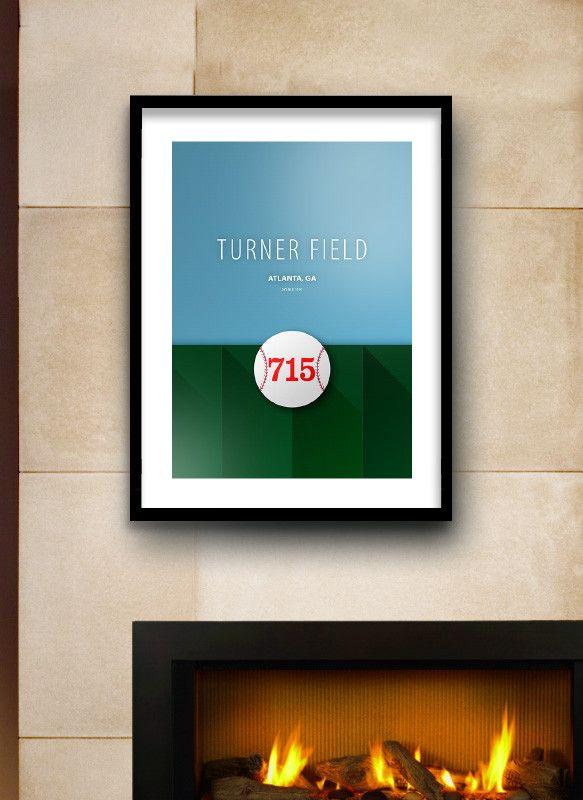 Atlanta Braves Bedroom Decor: 1000+ Ideas About Turner Field On Pinterest