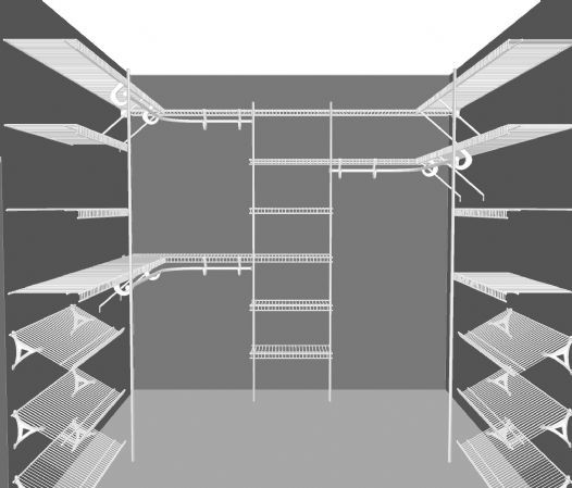 1000+ Images About Closetmaid Shelving On Pinterest | Walk In