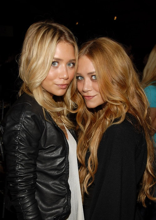 Olsen Twins these girls have great hair