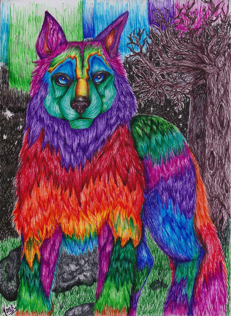 Borealis WOLF by MoniLozano.deviantart.com on @DeviantArt