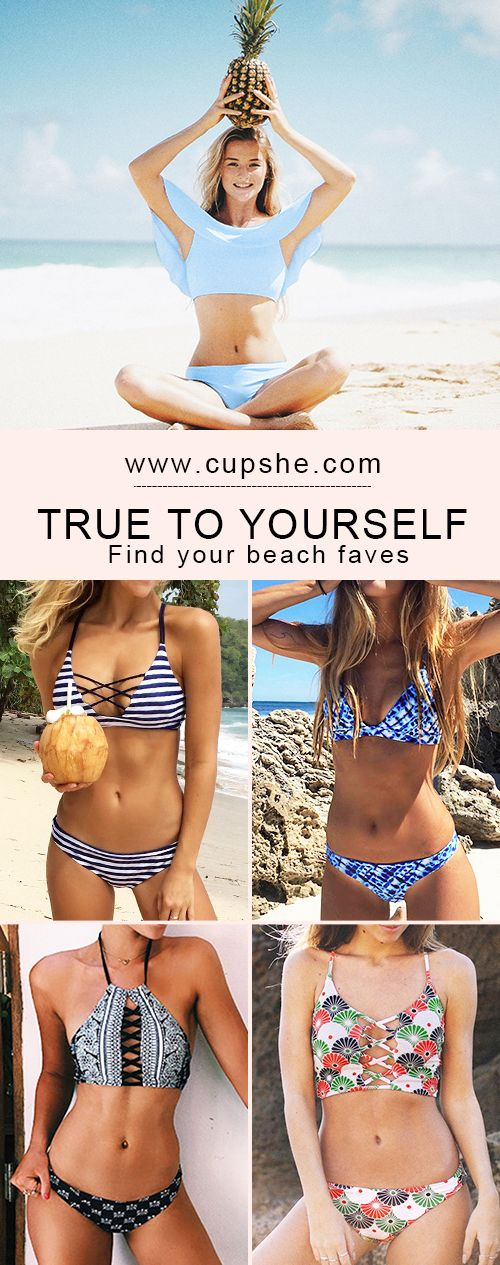 Calling all the trendsetting beach babes: Cupshe bikibis are here for you. Various styles with super quality and great service. Check them out and give a beautiful display of your confidence.