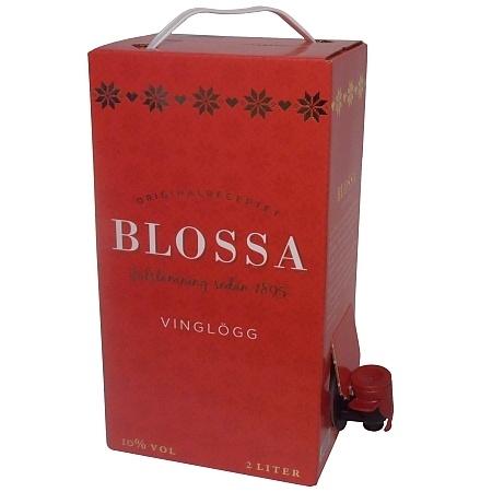 Blossa Glögg 2,00l BiB Glühwein aus Schweden (GP je Liter: 4,72€)