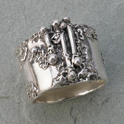 Metal Clay Guru - Get Enlightened about Everything Metal Clay - Hattie Sanderson - gallery_hattie_rings_32.jpg