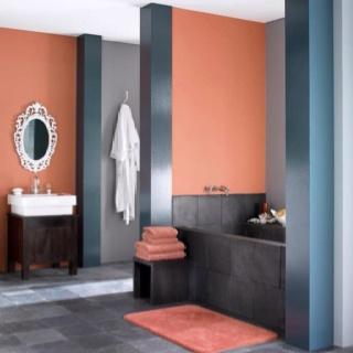 The 25+ Best Orange Bathrooms Ideas On Pinterest | Orange Bathroom Paint, Orange  Bathroom Decor And Orange Bathroom Mirrors