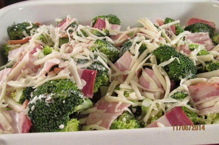 Ancika konyhája: Brokkolis csirkemell