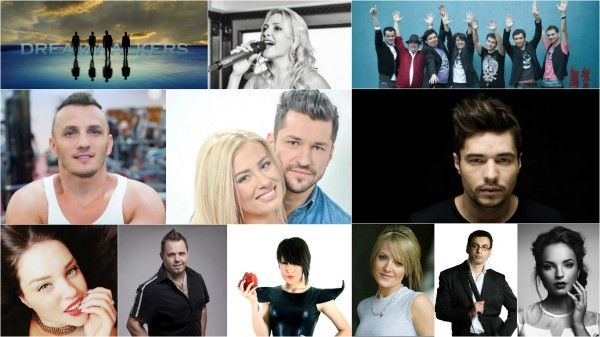 Romania: TVR unveils the 12 semi-finalists of Selectia Nationala 2016