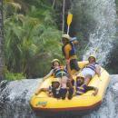 Jump at Bajing at Bali Rafting tour #balicycling #balirafting #baliraftingandbalicycling #baliactivities #balitour