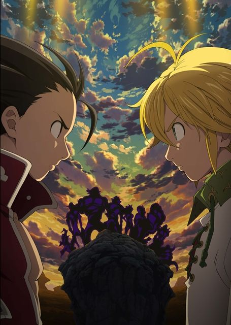 L'anime Nanatsu no Taizai Saison 2, daté au Japon |