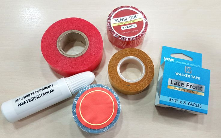 Tipos de cintas adhesivas para prótesis capilares | Belleza natural